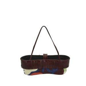 Chanel Cotton Shoulder Bag