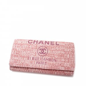 Chanel Deauville Long Wallet