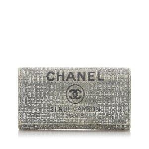 Chanel Deauville Long Wallet