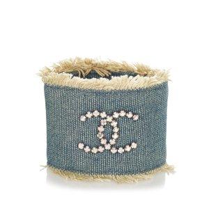 Chanel Bracelet blue cotton
