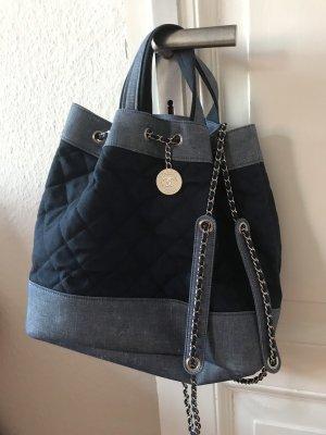Chanel Carry Bag blue-steel blue