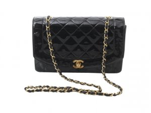 Chanel Shopper zwart Leer