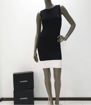 Chanel Abito da cocktail bianco-nero