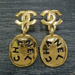 Chanel Orecchino a pendente oro
