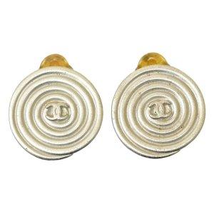 Chanel Orecchino a pendente argento Metallo