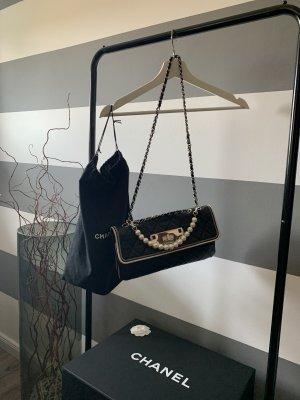 Chanel Sac bandoulière noir-blanc