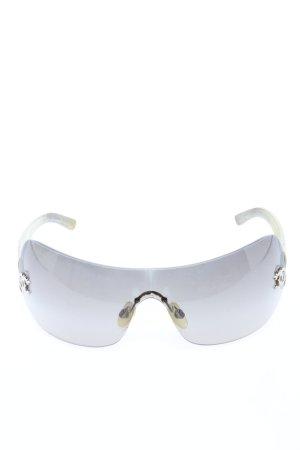 Chanel Kwadratowe okulary przeciwsłoneczne jasnoszary W stylu casual