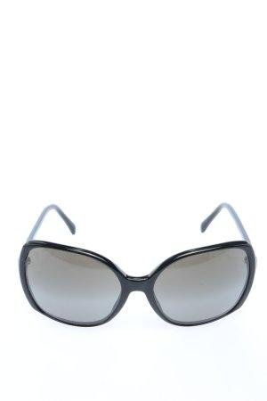 Chanel Angular Shaped Sunglasses black casual look
