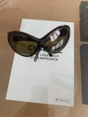 Chanel Occhiale stile retro marrone-nero