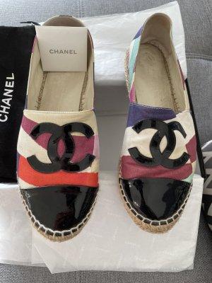 Chanel Espadrille Sandals multicolored