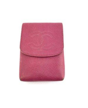 Chanel Etui 100% Original Pink Leder