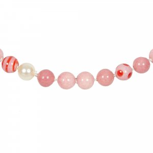 Chanel Necklace pink