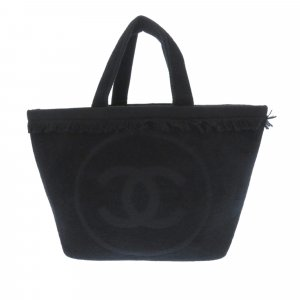 Chanel Fringe Beach Towel Cotton Tote Bag