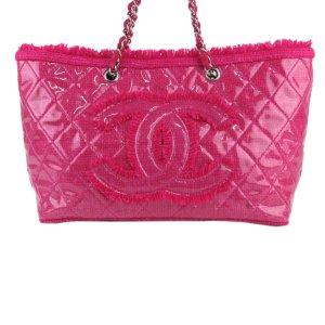 Chanel Funny Tweed Tote Bag