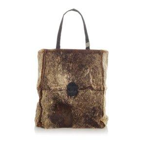 Chanel Fur Tote Bag