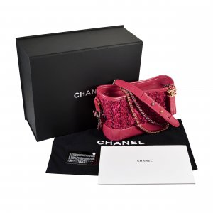 Chanel Crossbody bag multicolored leather