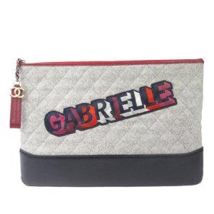 Chanel Gabrielle Wool Clutch