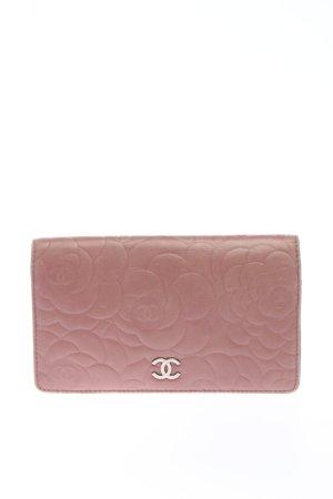Chanel Portmonetka różowy Na całej powierzchni W stylu casual