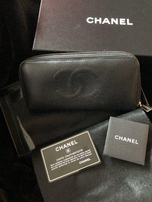 Chanel Portafogli nero Pelle