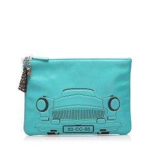 Chanel Habana O-Case Leather Clutch Bag
