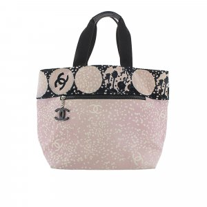 Chanel Sac fourre-tout rose clair