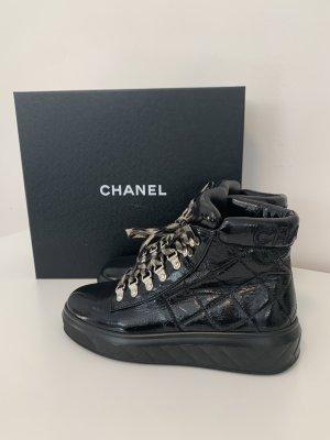 Chanel Scarpa stringata nero