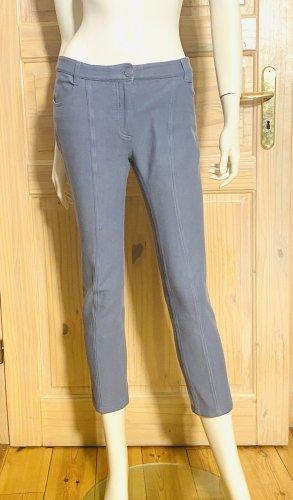 Chanel Pantalone di lino grigio ardesia Cotone