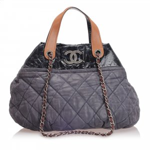 Chanel Satchel black leather