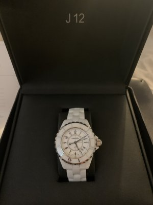 Chanel Watch Clasp white-silver-colored