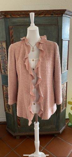Chanel Długa kurtka stary róż