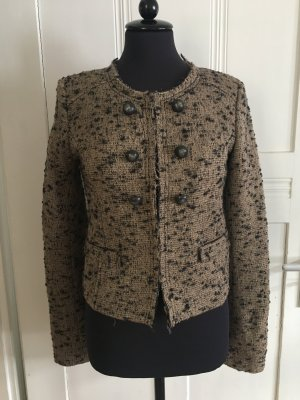 Rich & Royal Blazer en tweed multicolore laine