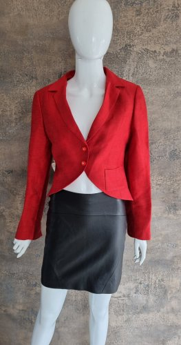 Chanel Blouse Jacket red cotton