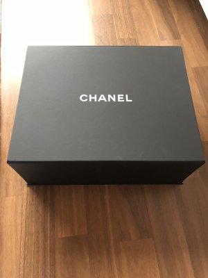 Chanel Borsa con manico nero-bianco