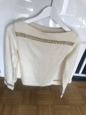 Chanel Pullover in cashmere crema-beige chiaro Cachemire