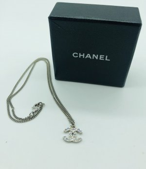 Chanel Necklace silver-colored
