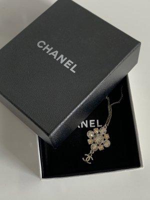 Chanel Kette mit Swarovski Kristallen und Geschenkbox