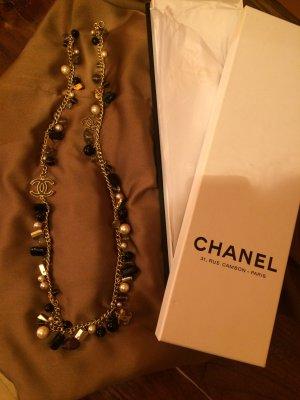 Chanel Ceinture en chaîne bronze-doré