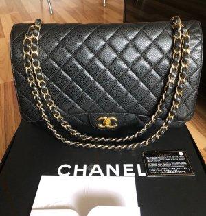 Chanel Klass.Tasche/ Überschlag, Caviar Leder