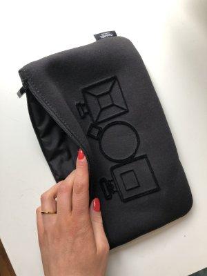 Chanel Clutch black-white
