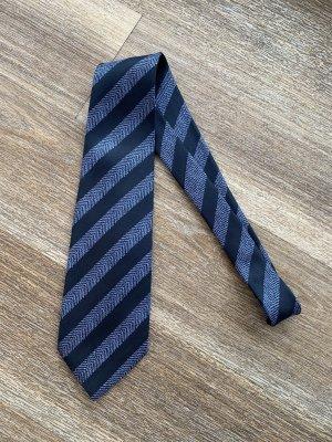 Chanel Corbata azul celeste-azul oscuro