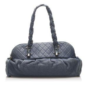 Chanel Lady Braid Lambskin Leather Shoulder Bag
