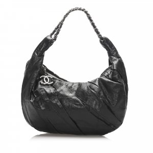 Chanel Lambskin Leather Hobo Bag