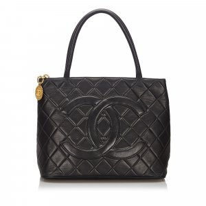 Chanel Lambskin Medallion Tote
