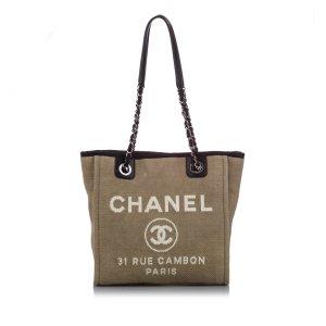 Chanel Sac fourre-tout beige