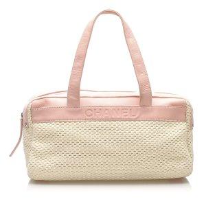 Chanel Lax Wool Shoulder Bag