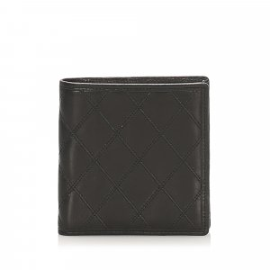 Chanel Leather Bifold Wallet