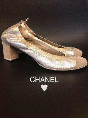 Chanel Leinen Ballerinas