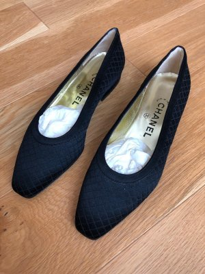 Chanel Pantoffels zwart