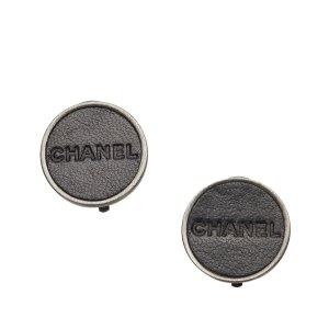 Chanel Logo Clip-on Earrings