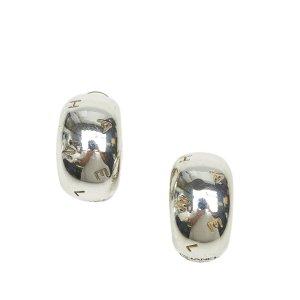 Chanel Oorbellen zilver Metaal